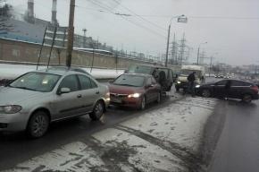 Очевидцы: на перекрестке Маршала Жукова и Портовой  произошло массовое ДТП