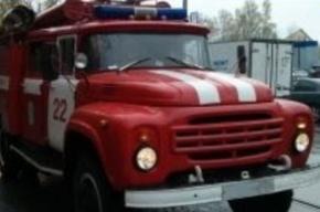 В Петербурге горит вторая овощебаза за сутки