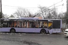 Трамвайная остановка в Донецке попала под минометный обстрел