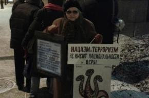 Антифашистский марш прошел сегодня в Северной столице