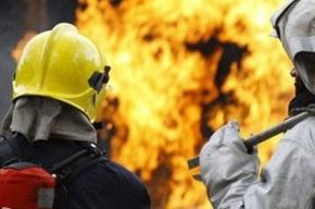 В Купчино на овощебазе тушили пожар сложности 1-бис