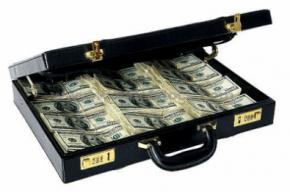 В Петербурге у бизнесмена  похитили портфель с деньгами
