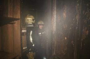 6 человек были эвакуированы в результате пожара на Васильевском острове