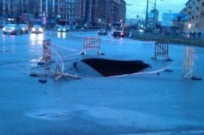 Коммунальная авария в Василеостровском районе ликвидирована