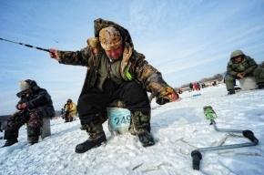 Спасатели МЧС вывезли десять рыбаков с треснувшей льдины