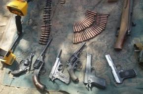 У «черного копателя» изъяли арсенал оружия времен ВОВ