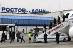 Из-за снегопада в Ростове-на-Дону задерживается авиарейс в Санкт-Петербург