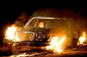 В Красногвардейском районе горел отечественный автомобиль