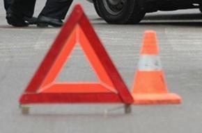 Массовое ДТП парализовало движение на КАДе у Мурманского шоссе