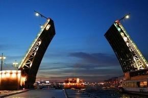 Восемь мостов будут разводить  до конца января в Северной столице