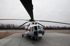 Вертолет МЧС забрал пострадавшего в ДТП на КАД