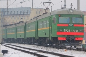 Электрички в сторону Павловска не ходили из-за смерти пассажира