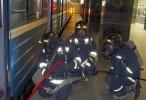 Фоторепортаж: «учения в метро»