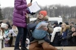 Митинг обманутых дольщиков. фото: СЕРГЕЙ ЕРМОХИН : Фоторепортаж