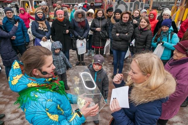 В ЖК «Австрийский квартал» прошли проводы Масленицы: Фото