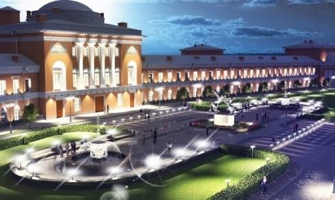 Проект реконструкции Конюшенного ведомства в апарт-отель от