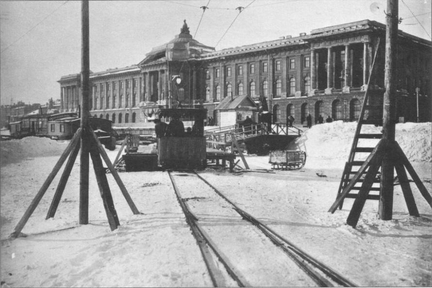 выставка к 120-летию ледового трамвая в Музее горэлектротранспорта_