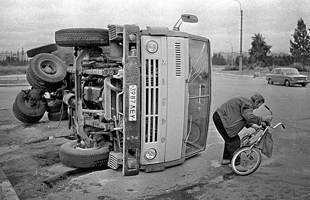 Авария. Фото Игоря Потемкина