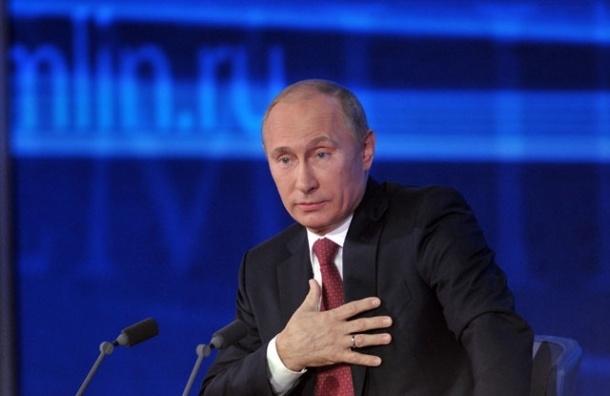 В России рейтинг одобрения деятельности Путина составил 86%