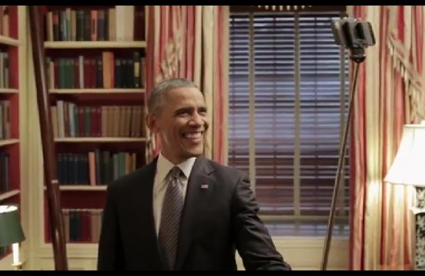 Президент США Барак Обама сделал селфи ради реформы здравоохранения