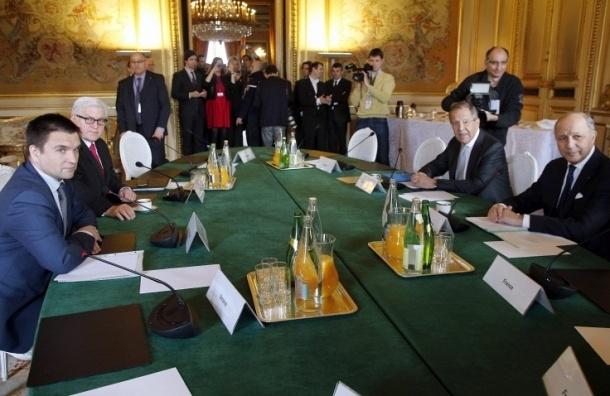 Главы МИД «нормандской четверки» призвали расширить мандат ОБСЕ на Украине