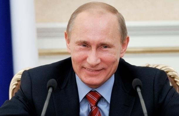 Рейтинг доверия к Путину достиг рекорда