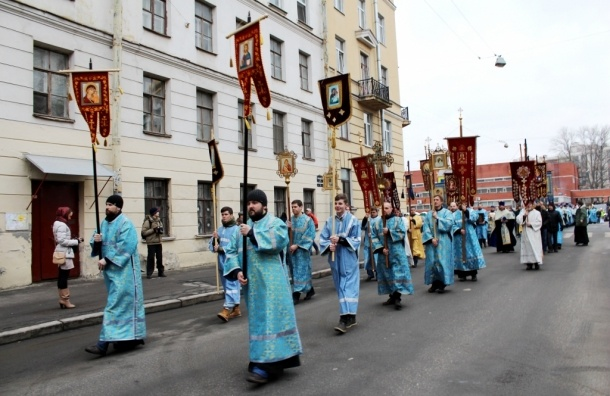 15 февраля по центру Петербурга пройдет молодежный Крестный ход