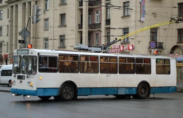 В Красносельском районе появится новый троллейбусный маршрут