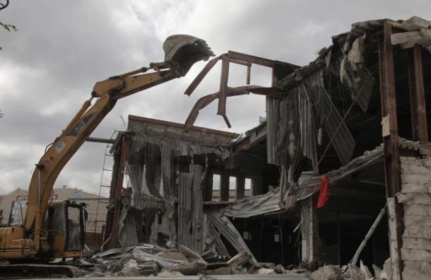 Торговый комплекс у «Приморской» окончательно снесут