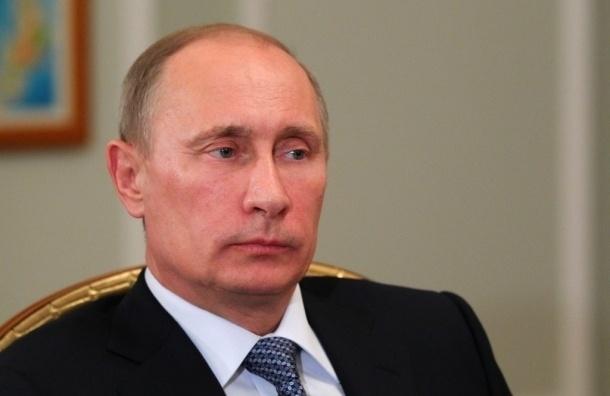 Путин призвал прекратить военные действия в Донбассе