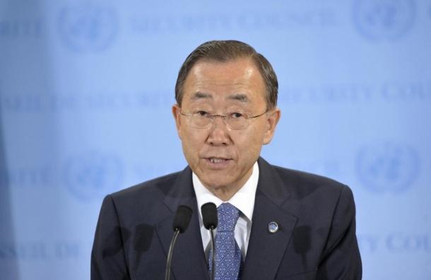 Генсек ООН Пан Ги Мун призывает соблюдать режим перемирия без исключений
