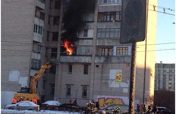 Пожар на Маршала Жукова: двое жителей, пытаясь спастись, погибли