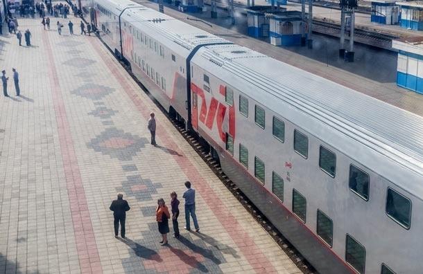 С 1 февраля между Москвой и Петербургом начинает курсировать двухэтажный поезд