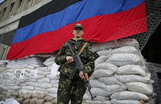 Ополченцы ДНР сообщают о сбитом самолете украинских военных над Горловкой