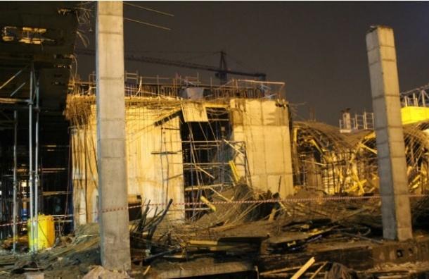 В результате обрушений перекрытий на стройке на Шаумяна никто не пострадал