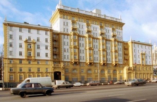 Голый параноик пытался проникнуть на территорию посольства США в Москве