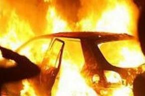 Автомобиль сгорел в Кировском районе