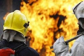 46 человек эвакуировали из-за пожара в бизнес-центра на Васильевском острове
