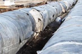 Более 450 домов переведено на пониженные параметры из-за прорыва трубы на Жукова