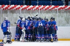 Хоккеисты СКА проиграли «Словану» со счетом 2:5