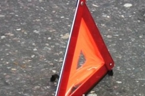 Иномарка перевернулась в Колпино: водитель погиб
