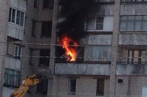 В МЧС сообщили об одном погибшем в результате пожара на Маршала Жукова