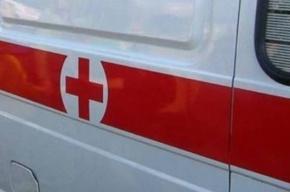 На Малоохтинском проспекте в ДТП пострадал человек