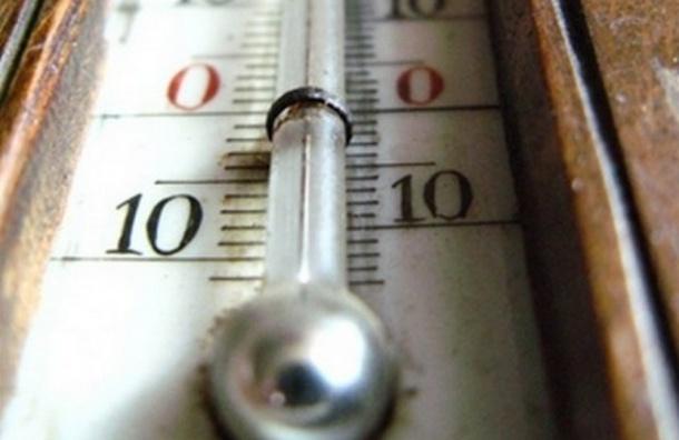 В Петербурге побит температурный рекорд
