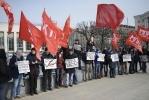 Пикет против сокращений, фото: Сергей Ермохин: Фоторепортаж