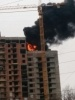 Пожар на  Московском, фото: соц.сети: Фоторепортаж