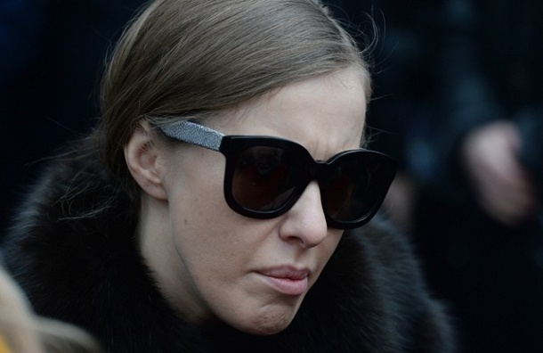 Ксении Собчак угрожали прямо на панихиде по Немцову
