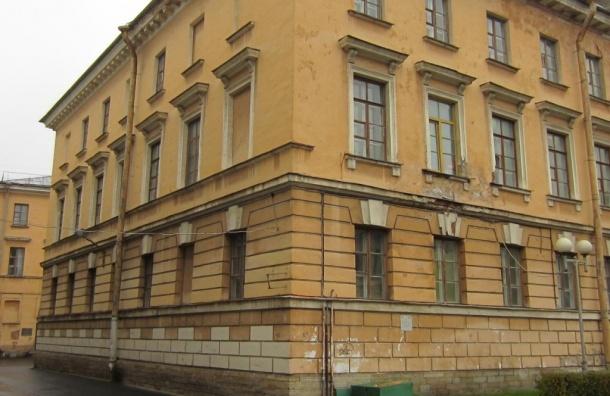 Фасады конюшни Аничкова дворца отреставрируют за 38 млн рублей