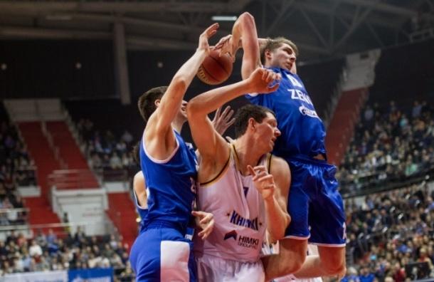 БК «Зенит» выиграл у «Химок» в матче Единой лиги ВТБ