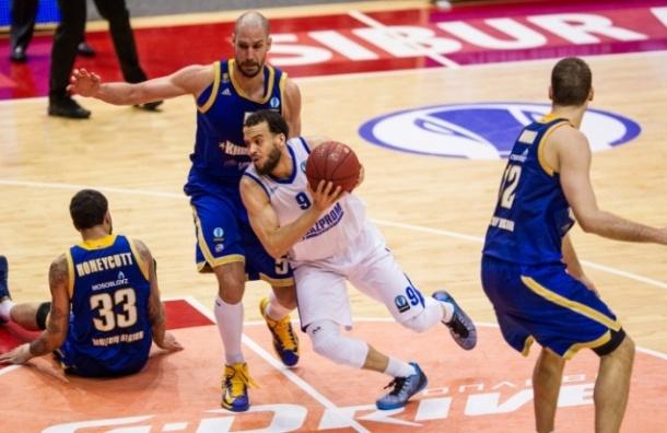 БК «Зенит» проиграл свой первый матч в плей-офф Еврокубка
